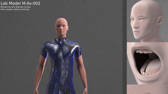 Manuel Bastioni Lab - free human models creation tool