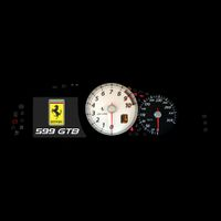 Cruscotto Ferrari 599 GTB - texture