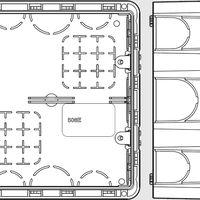 Blueprint scatola da incasso 506E