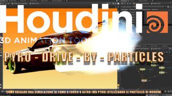 Tutorial SideFX Houdini - Drive Pyro con le Particles
