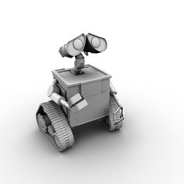 Wall E   Ambient Occlusion by brandedImagery mh