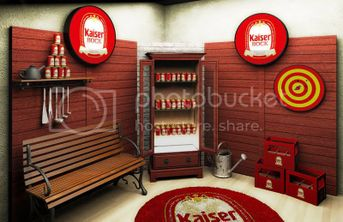 Kaiser Beer Stand