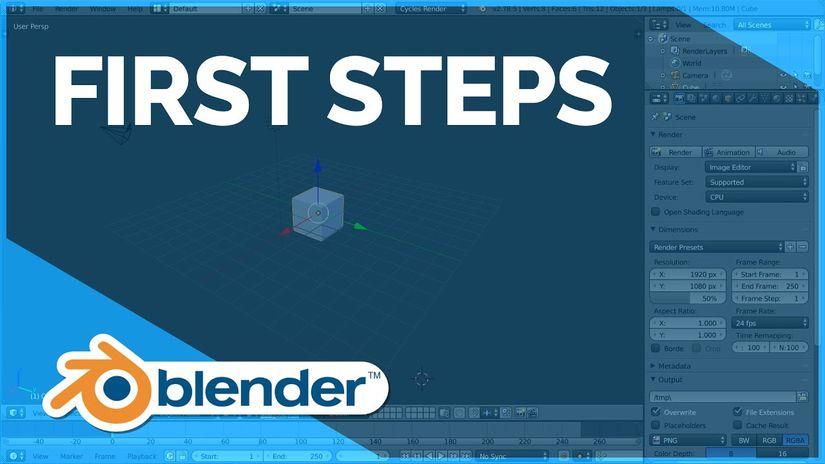 Blender First Steps: 25 video ufficiali per imparare Blender