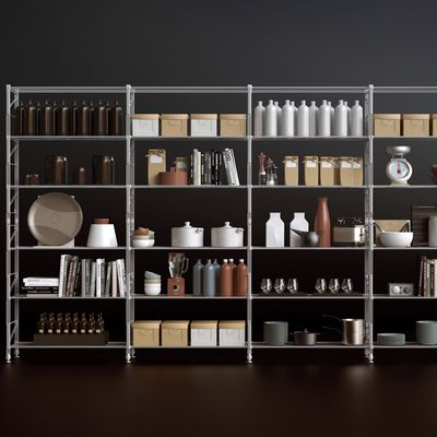 Modellazione-rendering mobile cucina