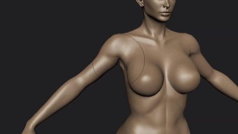 Mudbox 2014 - Scolpire un corpo femminile