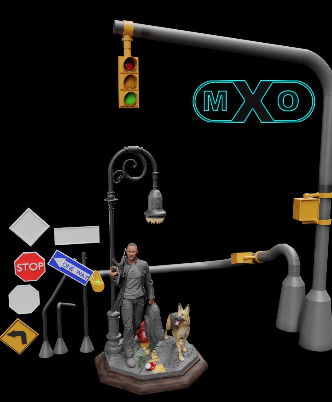 I Am Legend Fun Art 3D Printable Model