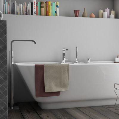 Interior realistic bathroom render
