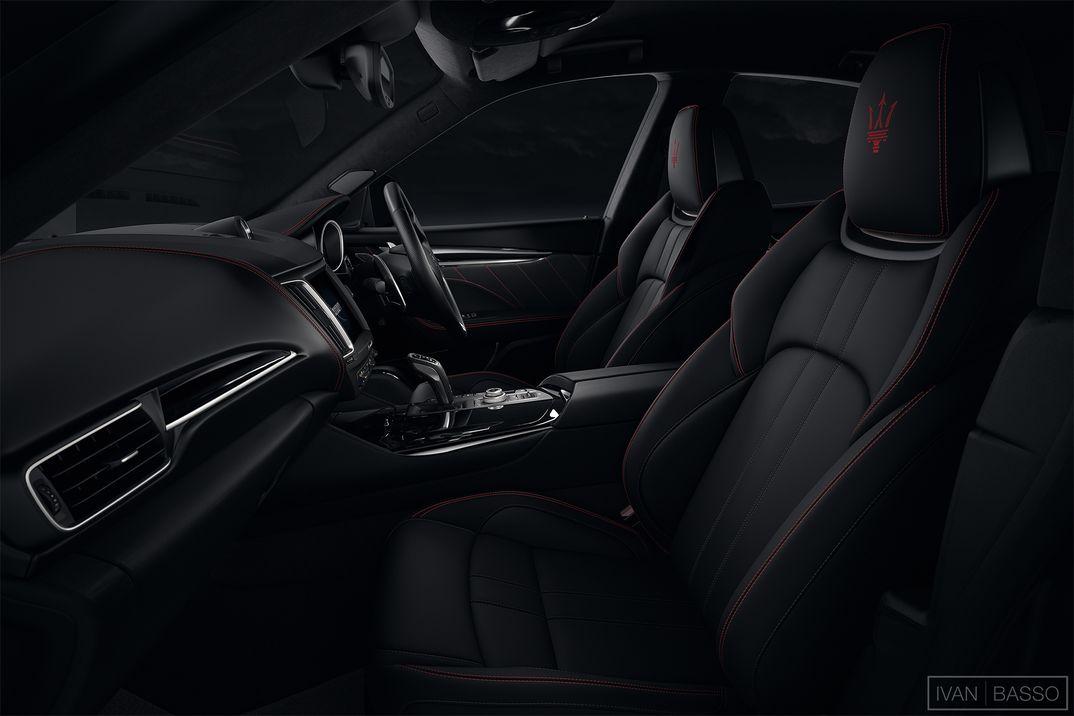 Maserati Levante Interiors (2/2)