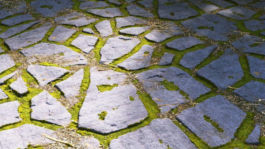 Pavimentazione in ardesia per giardino - FREE / PBR 4K