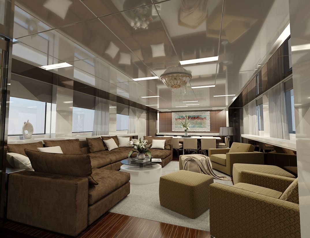 interior yacht