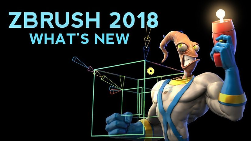 ZBrush 2018: What's new free tutorial