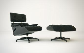 Eames Lounge Chair Black Edition