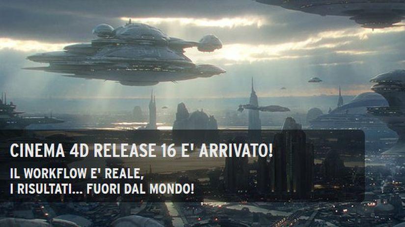Cinema 4D Release 16