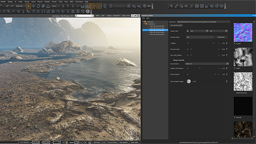 Amazon Lumberyard 1.1