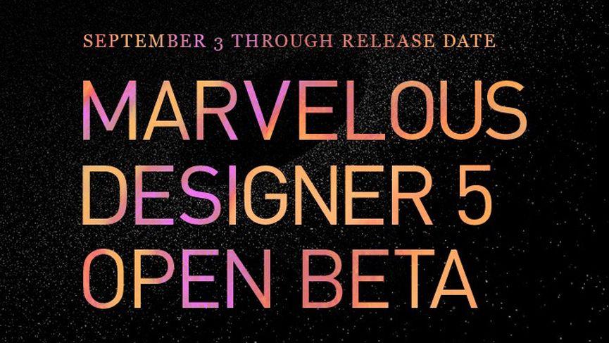 Marvelous Designer 5 - Open Beta