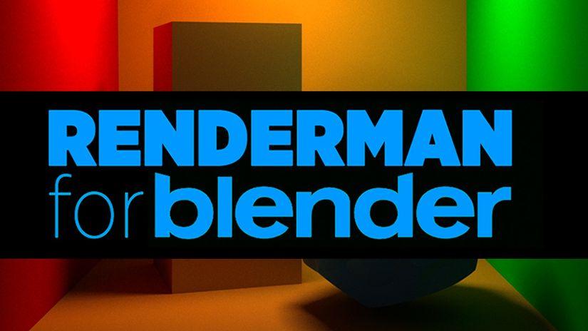 PRMan for Blender