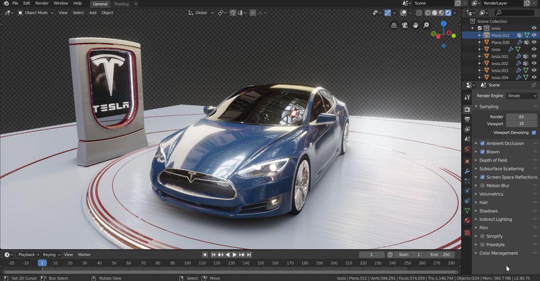 Tesla Model S (2016) + Download link
