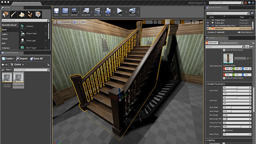 Open beta for unreal engine 4 Plug-in for Houdini