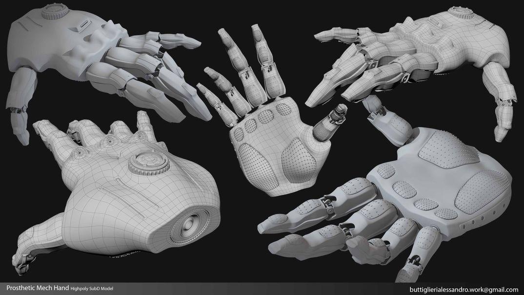 Prosthetic Mech Hand