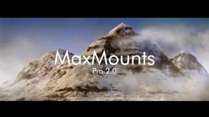 MaxMounts Pro 2.0 per 3ds Max