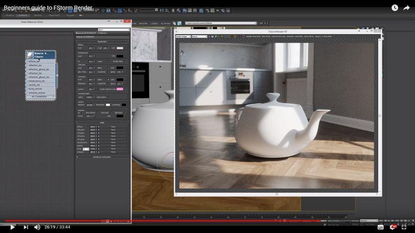 Fstorm render tutorial una guida per iniziare alla grande for Programmi per rendering