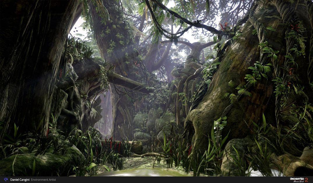 Uncharted 2 Borneo Level - UE4