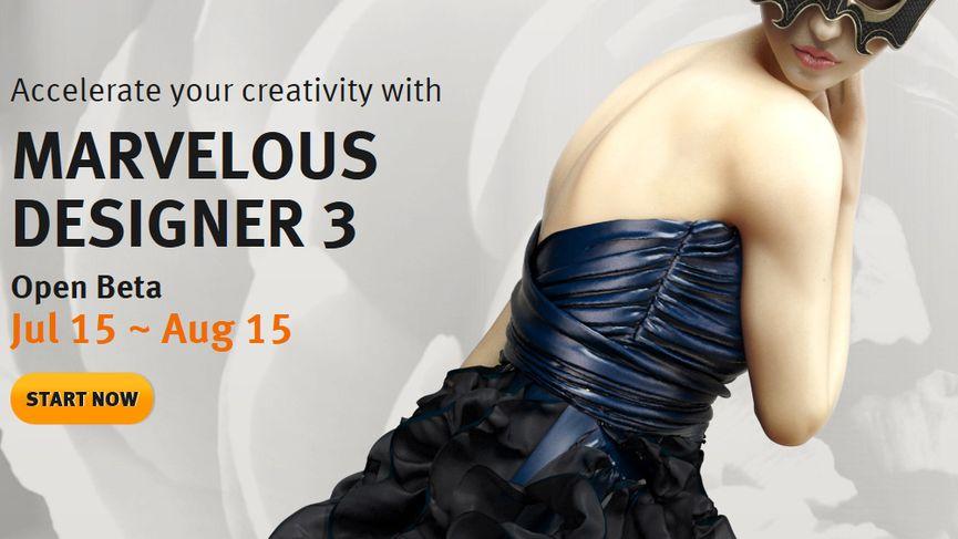 Marvelous Designer 3 - Open Beta