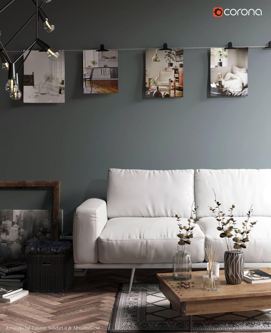 interior sofa' 2