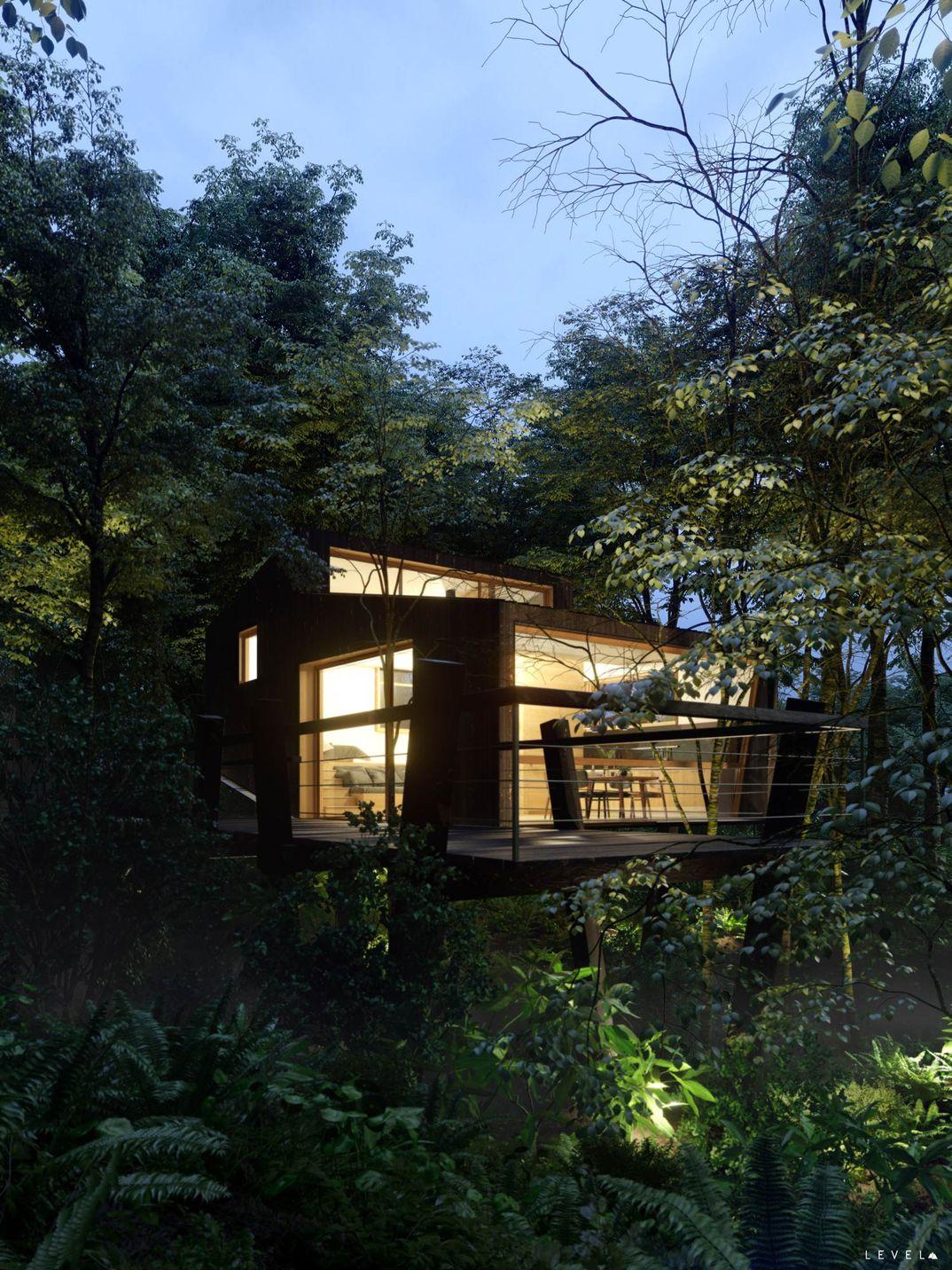 Casa Quebrada en Chile