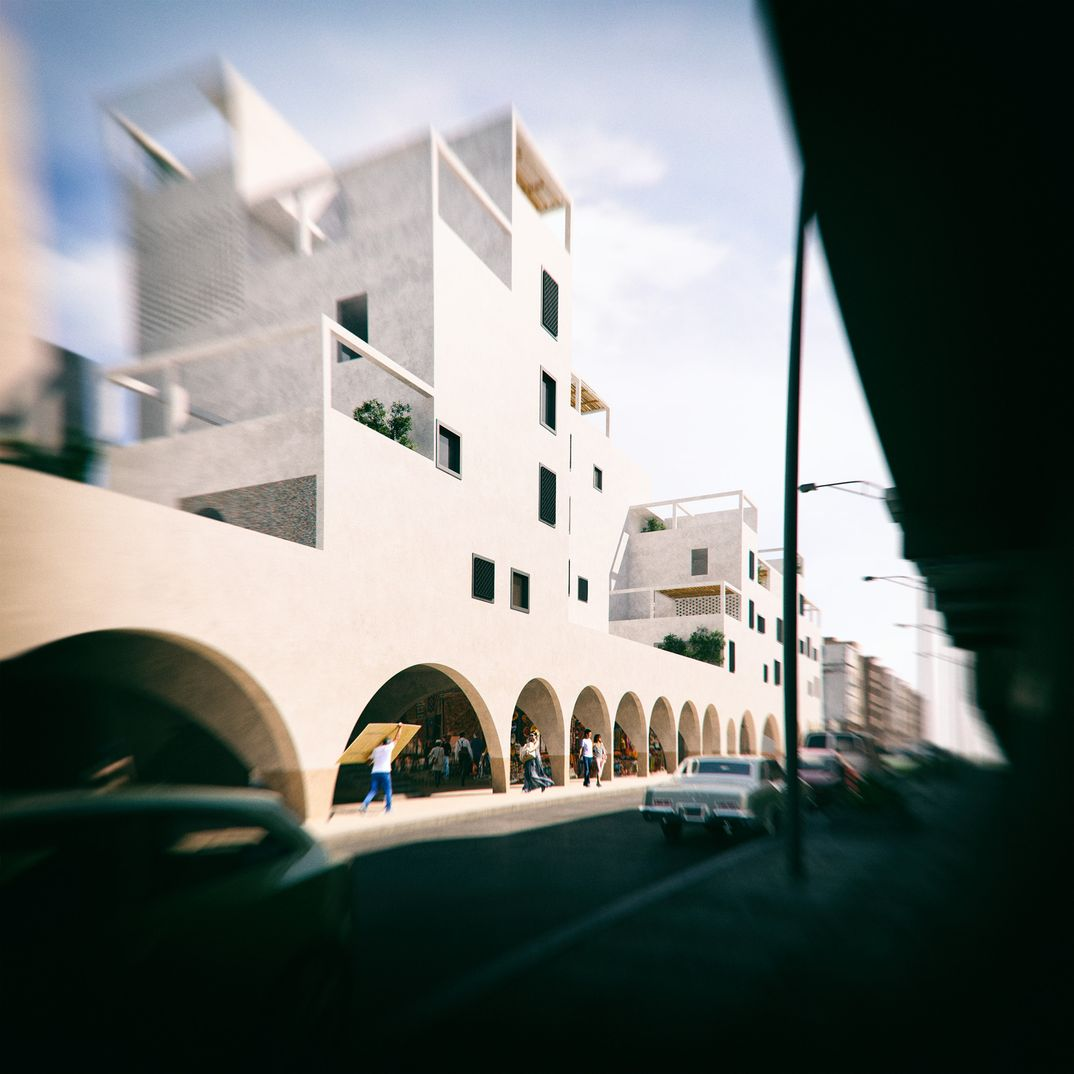Moroccan Residential Building