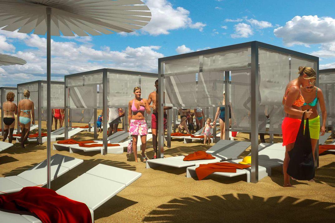 Realizzazioni Rendering fotorealistici 3d : Outdoor