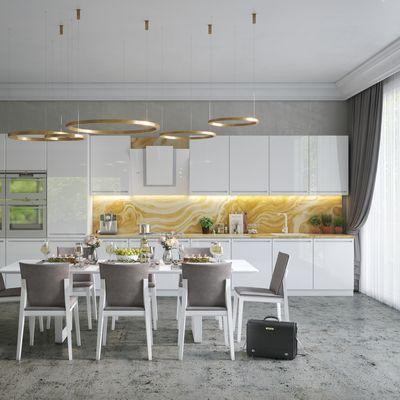 Cucina moderna bianca