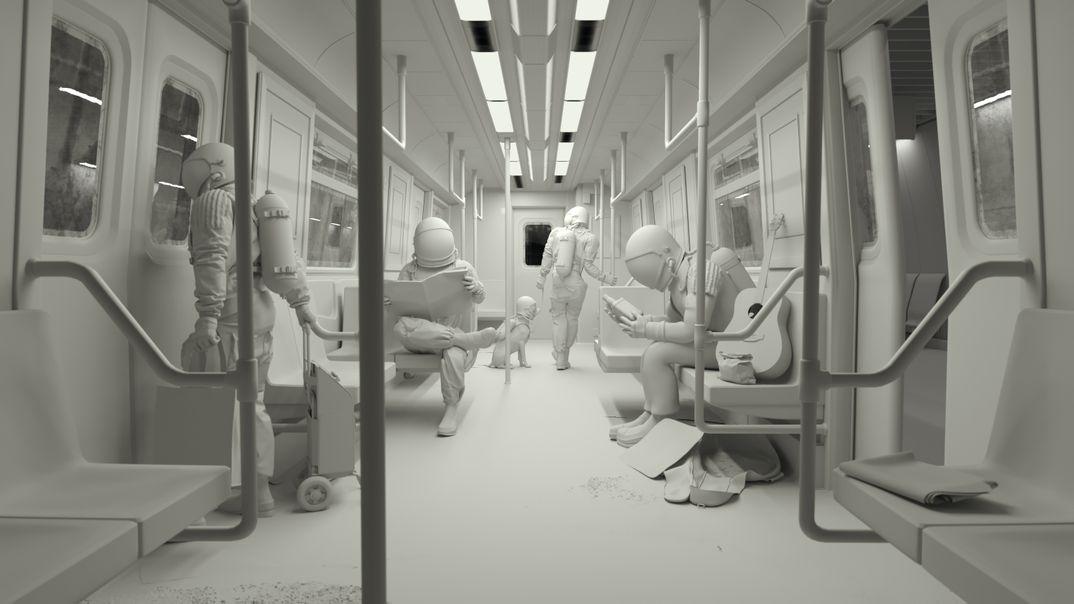 Commuting on Mars   2010