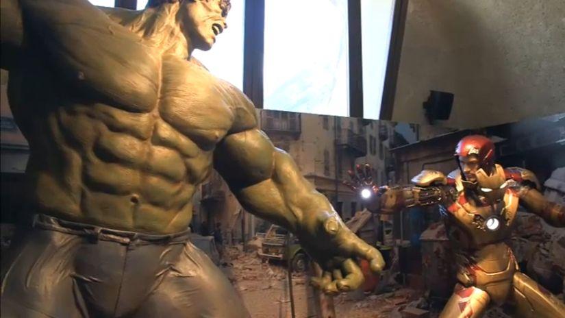 Gli Avengers tornano al Forte di Bard - al via la mostra ufficiale del film