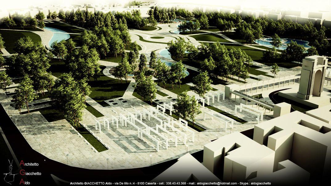 Recupero Area Miliare Dismessa - Parco urbano