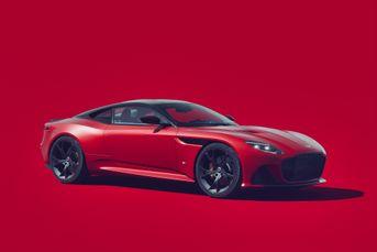 Aston Martin Superleggera - studio
