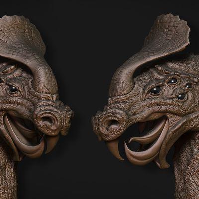 Creatura simil dinosauro