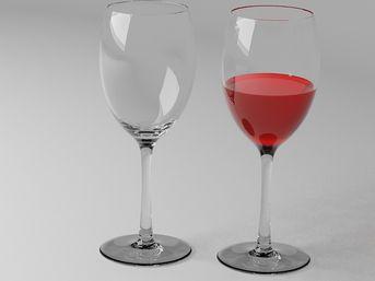 Prova Bicchiere Di Vino