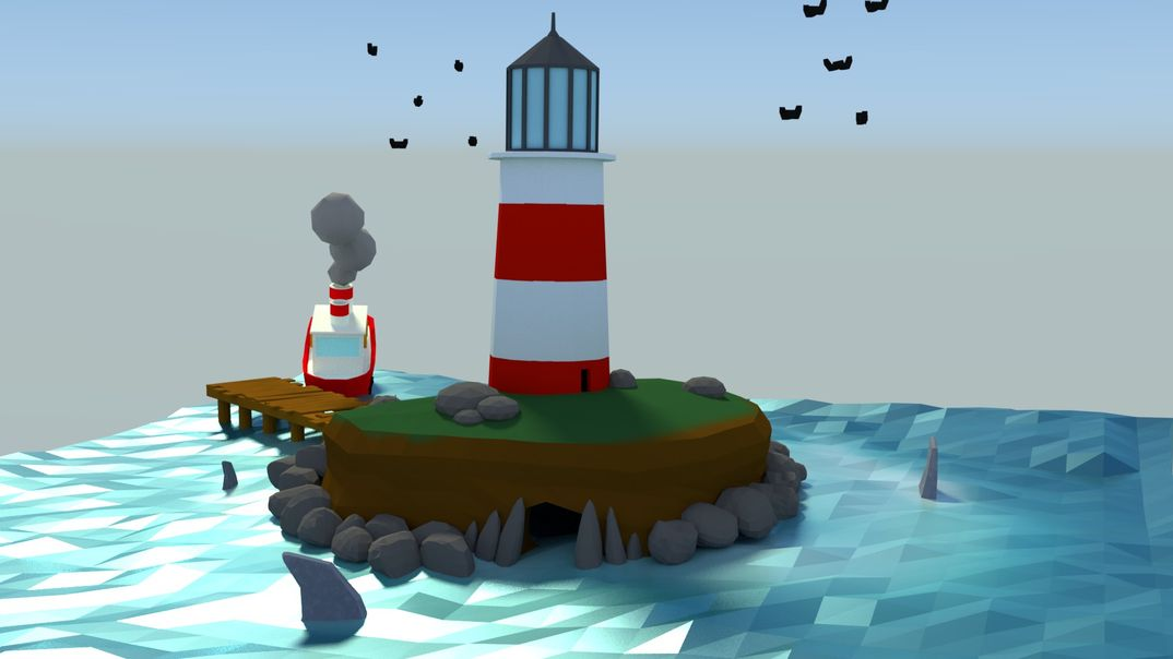 The Lighthouse island