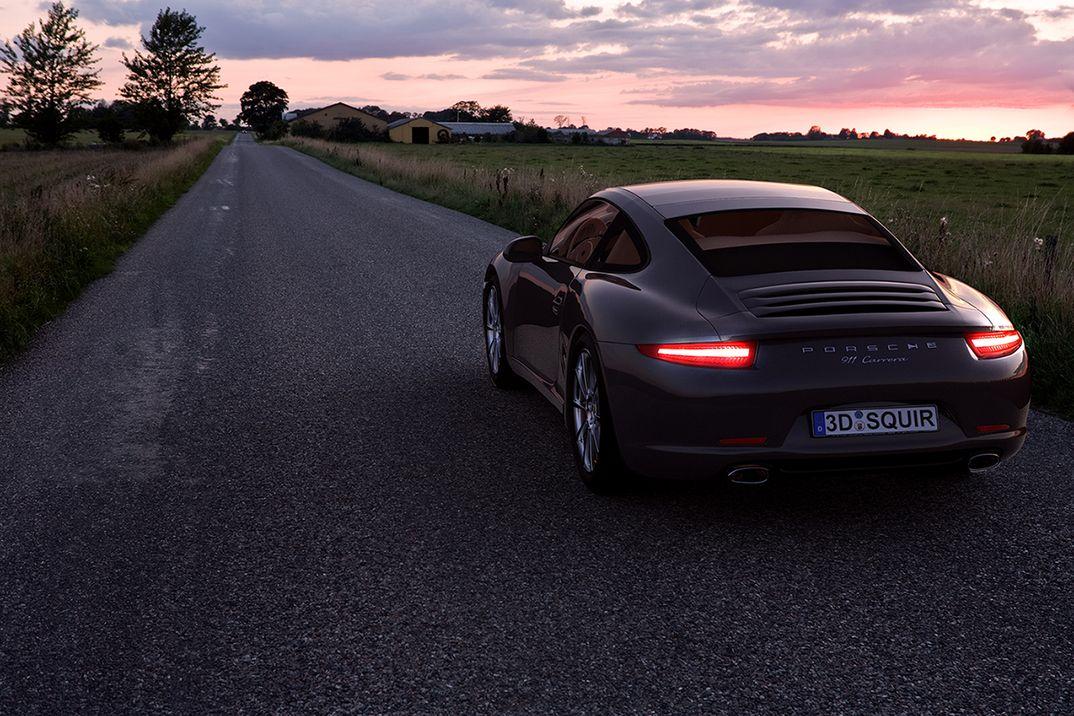 Porsche HDRI