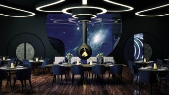 Restaurant in the Space