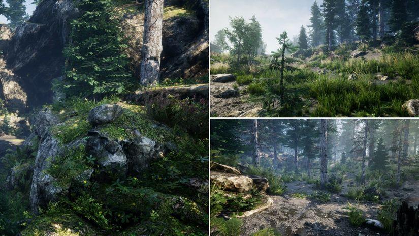 Environment Asset gratuiti per Unreal Engine