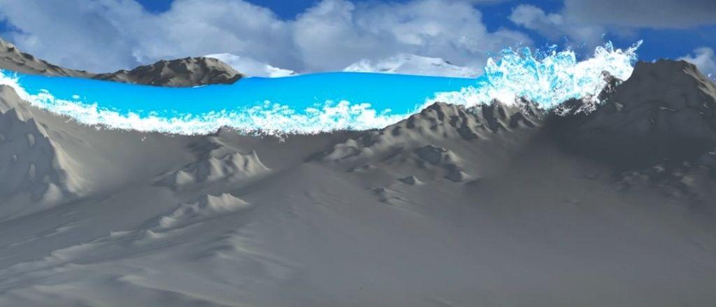 WIP: Houdini RnD:Massive water Flood V001