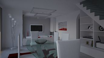 Villa Residenziale - Soggiorno