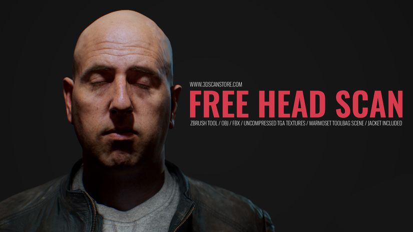 Free 3D Head Model Download