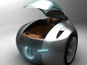 Nuovo concept car biruota