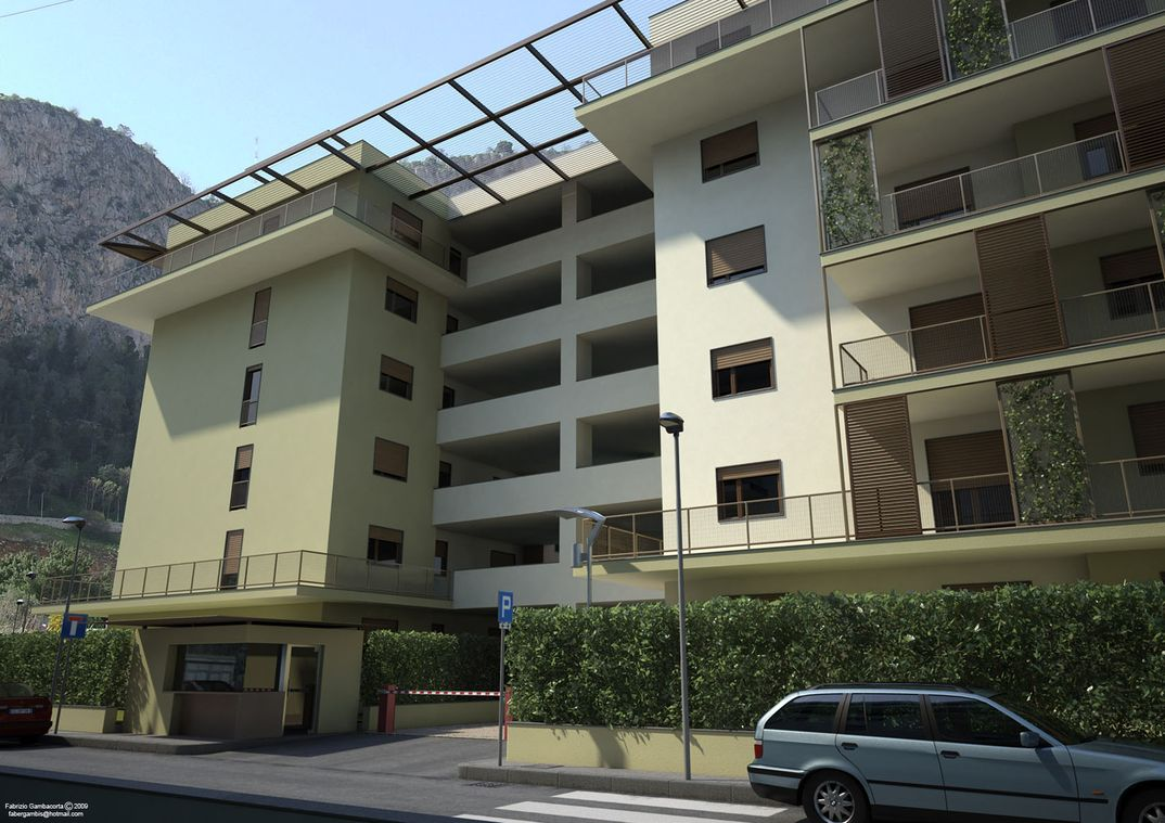 Complesso Residenziale A Palermo