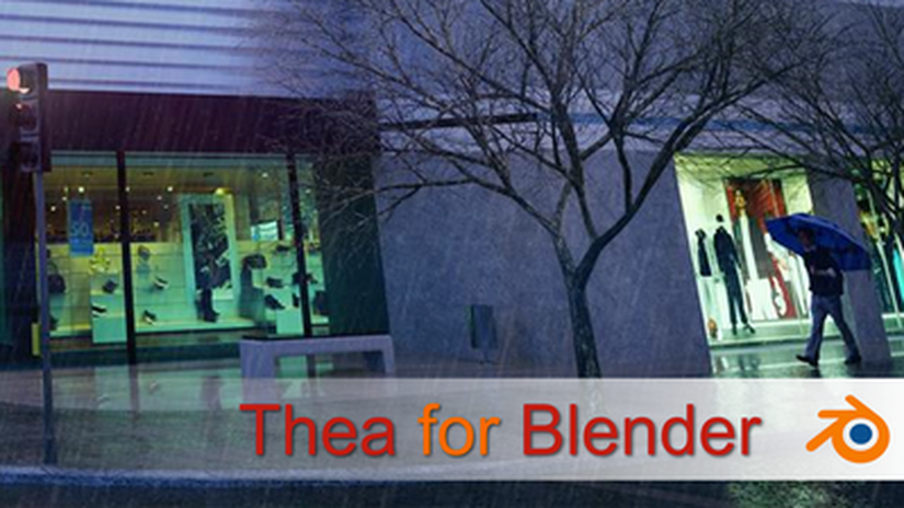 Thea for Blender plugin