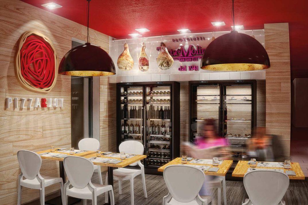 Realizzazioni Rendering fotorealistici 3d : Bar Ristoranti Pizzerie Disco Pub