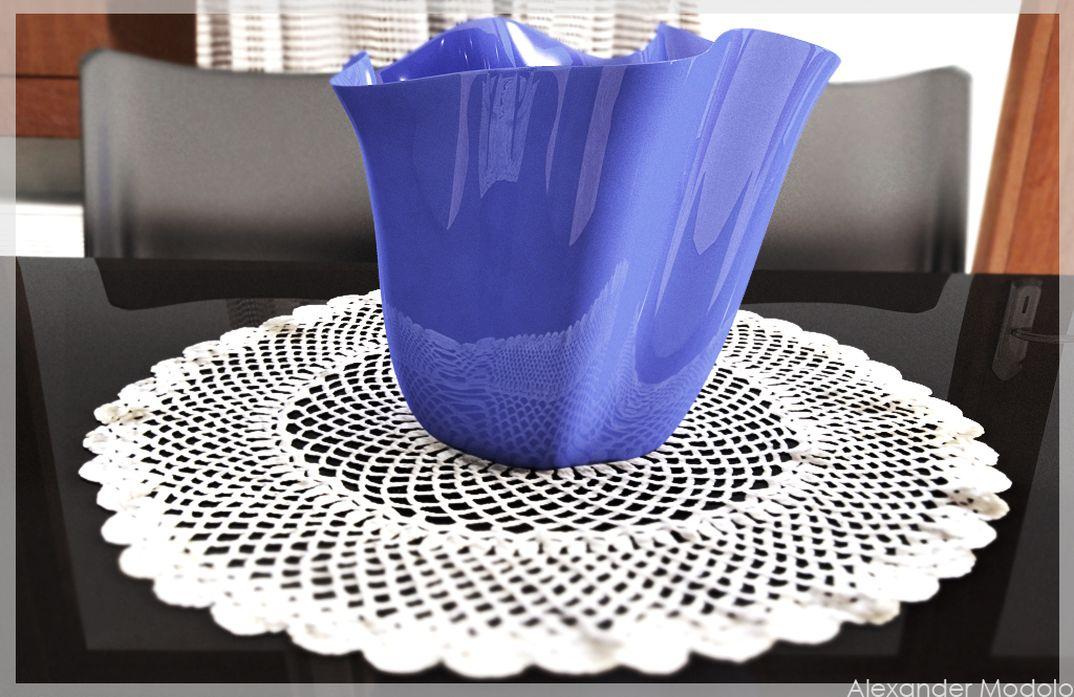 ...vaso Blu...